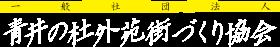 一般社団法人 人吉 青井の杜外苑 街づくり協会