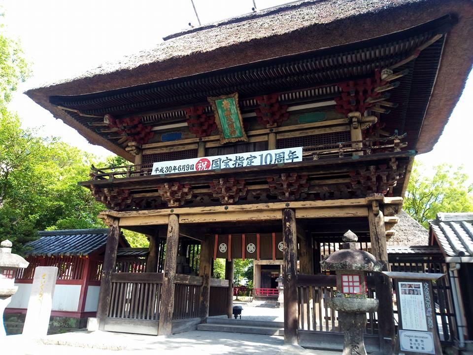 国宝青井阿蘇神社の楼門